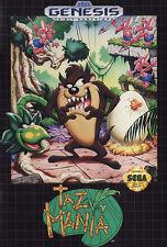 ## SEGA Genesis - Taz Mania (US Mega Drive) - TOP / MD Spiel ##