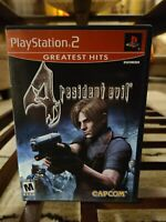 Resident Evil 4 Playstation 2, PS2 2005 Complete With Manual CIB