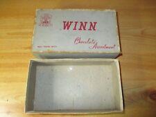 COLLECTABLE AUSTRALIAN CHOCOLATE BOX: WINN