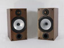 Monitor Audio Reference 2 - Regallautsprecherpaar in Schwarz und Nußbaum