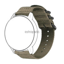 Quick Fit Universal 18mm 20mm 22mm Durable Military Woven Nylon Watch Band Strap