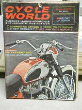 Cycle World, August 1966, History of Honda, Competition Lexicon   box 9