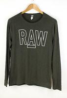 G-Star Raw Herren Rackpal 1 Regular Sweatshirt Oberteil Größe M ADZ251