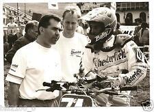 photo orig.moto.championnat  monde 1993.motocross 250.Michel Hamon.Leloir.Bolley