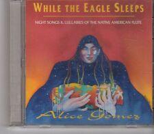 (FX913) Alice Gomez, While The Eagle Sleeps - 1996 CD