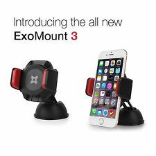 ExoGear ExoMount 3 Suction Cup Car Mount Holder for iPhone 7 6 6s Plus 5 5s SE