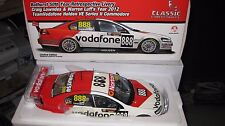 CLASSIC 1/18 2012 BATHURST RETRO HOLDEN COMMODORE LOWNDES LUFF 888 VODAFONE  513