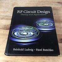 RF Circuit Design by Reinhold Ludwig Hardback Book