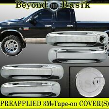 2004-2009 DODGE DURANGO ASPEN Triple Chrome Door Handle+Gas Fuel COVER Overlays