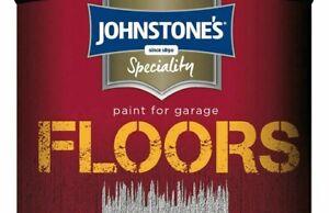 Johnstone's Garage Floor Paint Semi Gloss 750ml 2.5L Floor Paint