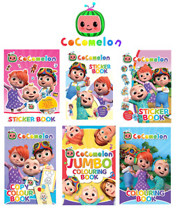Cocomelon - Activity Colouring and Sticker Books For Kids