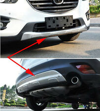 Front Rear Gate Protector Bumper For 2013 2014 Mazda CX-5 Tail 2015 Full Set