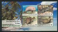 AAT78) Australian Antarctic Territory 2011 WWF for Nature Minisheet MUH