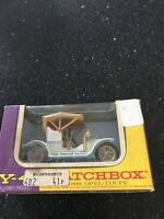 Vintage MATCHBOX Lesney - Y-4 1909 OPEL COUPE Models of Yesteryear - BOXED