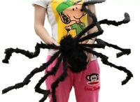 Spider Decoration Party Haunted House Prop Black Giant Scary Halloween Decor