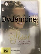 The Sissi Collection DVD Exclusive 4-Disc Set New and Sealed Australia Region 4