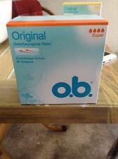 O.b. Tampons Original super 56stk Ovp. Neu