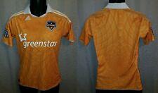 Houston Dynamo Orange Adidas MLS Home Jersey 2011 - Youth L / Womens S