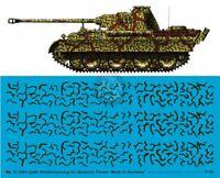 Peddinghaus 1/16 Streifentarnung German Ambush Strip Tank Camouflage WWII 3360