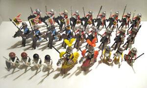 Playmobil Stadtwache, 27 Ritter + 20 Pferde, Armee, Turnier, Custom, Selten, TOP