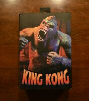 "NECA Reel Toys Ultimate King Kong Illustrated Version 7"" Tall Action Figure"