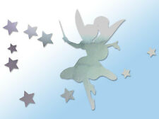 Fairy Stardust Car Sticker Window Styling Decal, Chrome