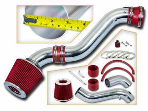 RACING AIR INTAKE KIT + DRY FILTER FOR 02-05 Chevy TrailBlazer Envoy 4.2L V6