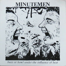 Minutemen - Buzz Or Howl Under The Influence Of Heat LP - Sealed - NEW COPY