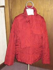 Coldwater Creek Embroidered Jacket size 22 Quilted with Detachable Scarf