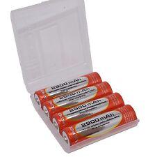 AA 4 x 2900 mAh NiMh Rechargeable Batteries Vapextech