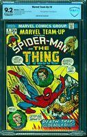 Marvel Team-up #6 CBCS NM- 9.2 Off White to White Comics