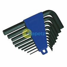 "Heavy Duty Imperial HEX ALLEN KEY experto Set Allan Alan Alen 10 Pieza 1/16 "" -3 / 8"