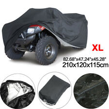 XL 83'' ATV Cover 4 Wheeler Quad Bike Storage All Weather Rain Dust Protection