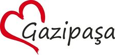"Auto Aufkleber "" GAZIPASA "" Sticker Stadt Türkei ca.8x16cm konturgeschnitten"