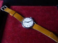 Ruhla Armbanduhr Antimagnetic Made in GDR mit Lederarmband