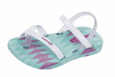 Sandales blanches à attache auto-agrippant pour bébé