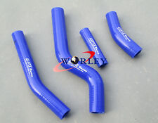 For Yamaha WR450F WRF450 2010 2011 2012 2013 2014 Silicone Radiator Hose BLUE
