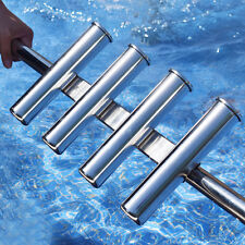 Novel 316 Stainless Steel Rod Holder 4 Rod Rack Fishing Rod Pod Boat Marine
