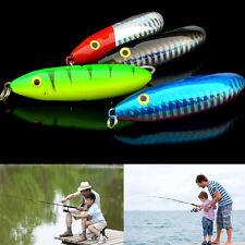 Spoon Minnow 7cm Saltwater Crankbait Snapper Hard Bait Painting Fishing Lure 3c Blue