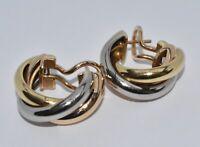 Cartier Trinity Earrings 18k