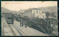 Vicenza Thiene Stazione Treno cartolina QT2661