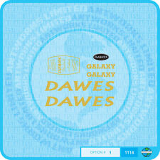 Dawes Galaxy Decals Bicycle Transfers - Gold - Set 1