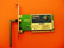 Dlink Air DWL-520 PCI Desktop Wireless PCI Adapter Card