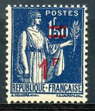 STAMP / TIMBRE DE FRANCE NEUF N° 485 ** TYPE PAIX SURCHARGEE