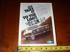 1977 CHEVROLET NOVA   ***ORIGINAL AD*** NOVA RALLY