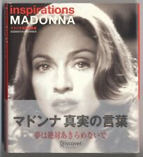 Madonna JAPAN PHOTO BOOK with OBI Inspirations, Published in 2006