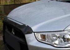 MITSUBISHI ASX 2010 - 2012 EGR Bonnet Guard Protector - Bug Shield - Dark Smoke