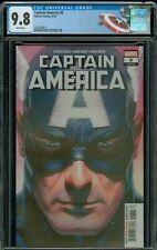 Captain America #8 LGY712 Alex Ross CGC 9.8 Captain America Label