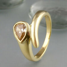 1 Ring mit ca. 0,75ct si Fancy Diamant in 585/14k Gelbgold