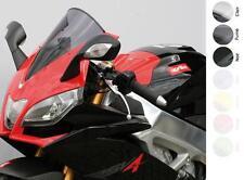 Bulle Racing Claire pour Aprillia RSV4 FACTORY de 2009 à 2011